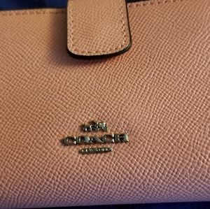 Coach Blush Pink Wallet NWT